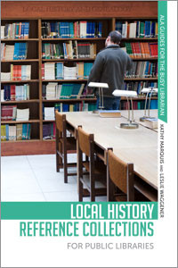 Marquis co-authored Local History Reference Collections for Public Libraries from ALA Editions with Leslie Waggener.