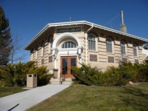 Niobrara County Library is still housed in its 1919 Carnegie building.