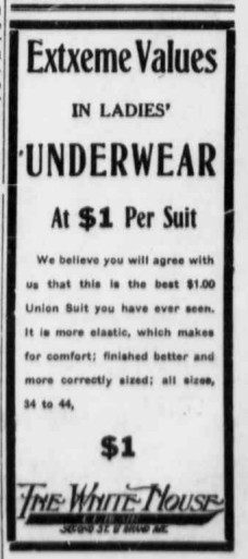 union suit ad