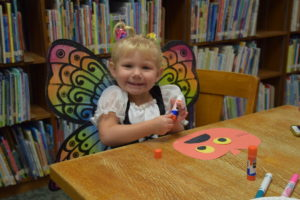 Campbell County Public Library patron on Snapshot Day 2015