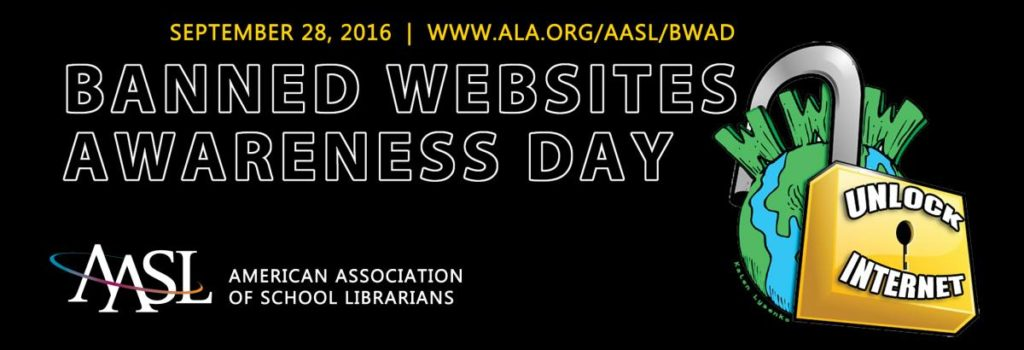 Banned Websites Awareness Day Banner